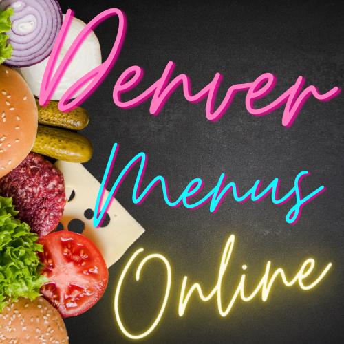 Denver Menus Online