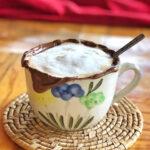 Cappuccino with Nutella